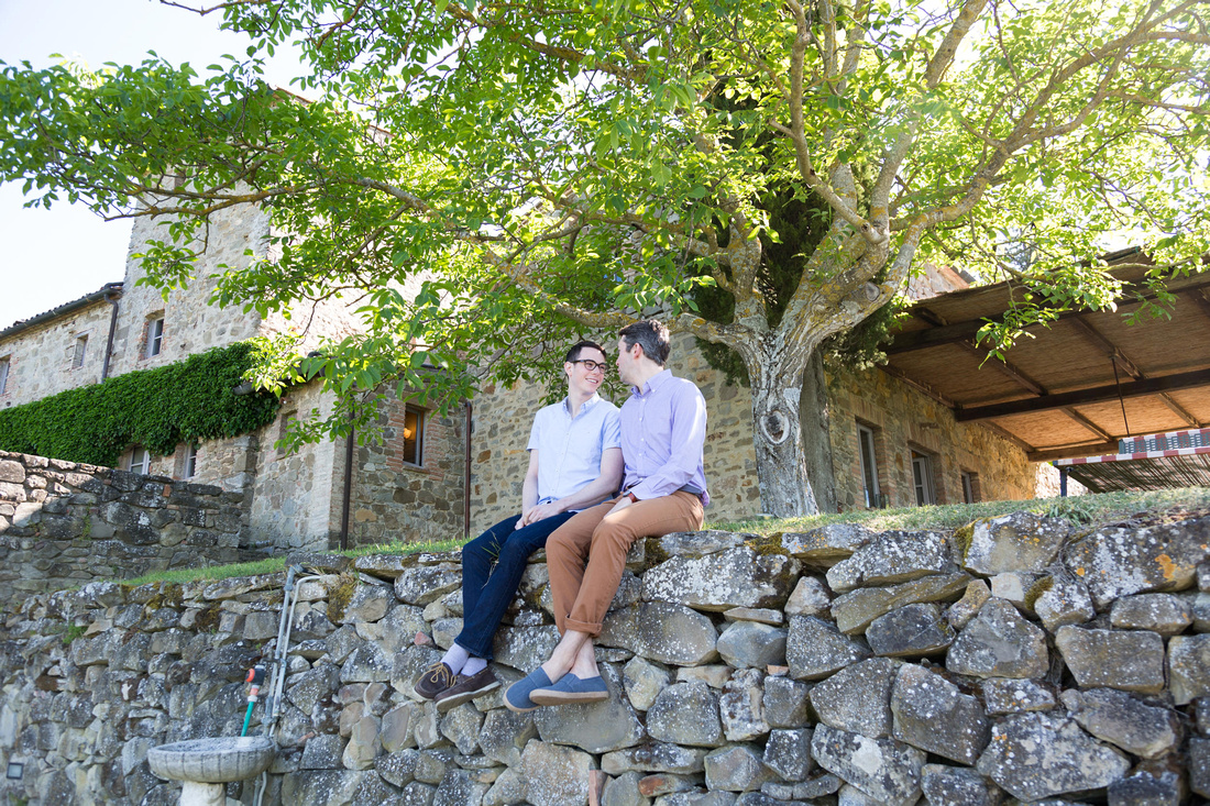 same sex couple photographer in Tuscany