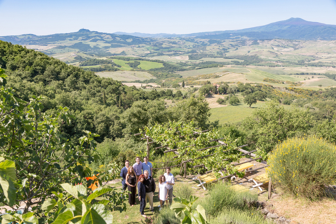 best family photographer in Val d'Orcia