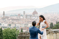 Proposal in Florence photographer - after the storm