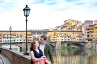 Behind the scene at couple shoot in Florence