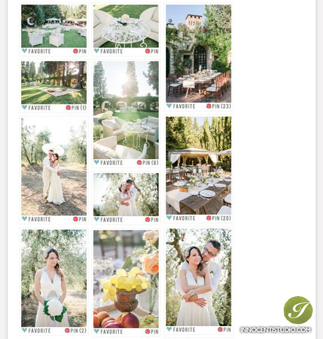 20's style Garden Party Wedding on SMP -Tuscany destination wedding photographer
