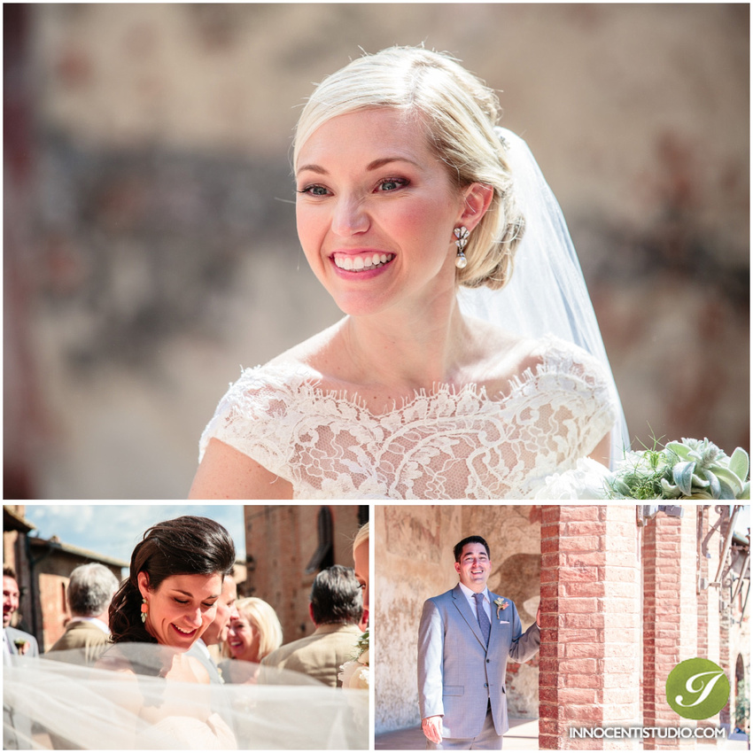 Certaldo and Castello di Bibbione Destination Wedding - Tuscany wedding photographer