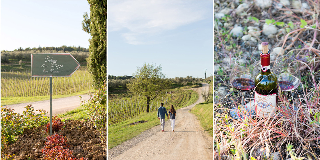 tuscany photographer, honeymoon, family photographer