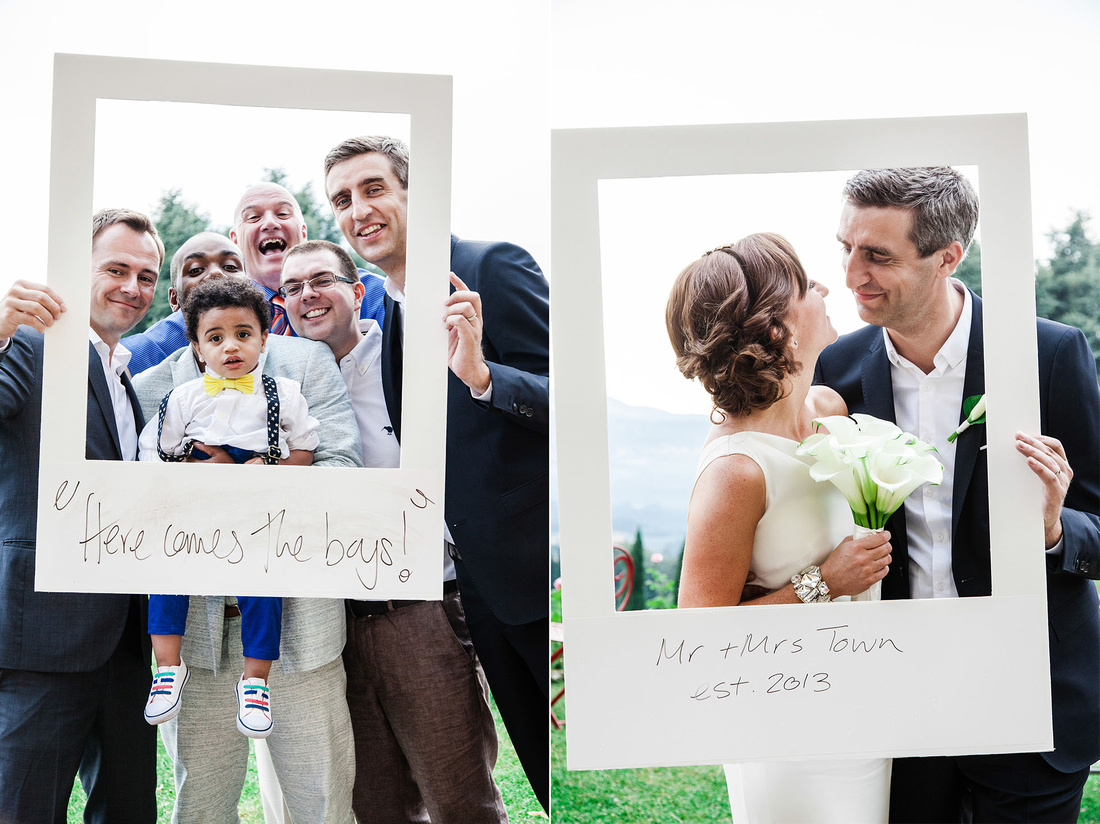 Innocenti Studio | Giant Polaroid Photo Booth - Tuscany wedding ...