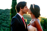Fairytale wedding at Castello di Vicarello