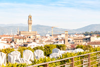 Rooftop wedding at Westin Excelsior Florence photographer