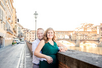 Honeymoon in Florence at sunrise
