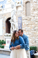 Engagement photographer in Florence Tuscany