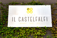 cocktail party event at Castelfalfi resort in Tuscany