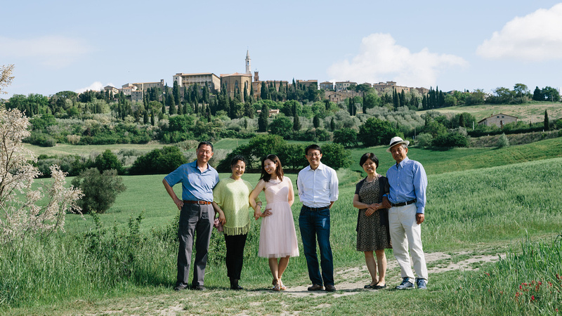 family vacation photographer in Pienza - Val d'Orcia - Siena