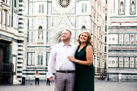 Sunrise honeymoon photographer in Florence Tuscany